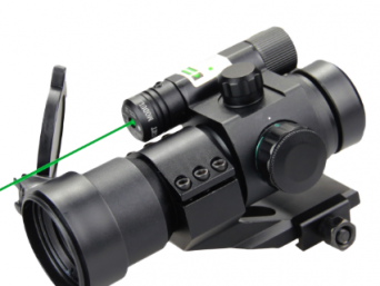 1×30 red dot with green laser sight DN15130D6